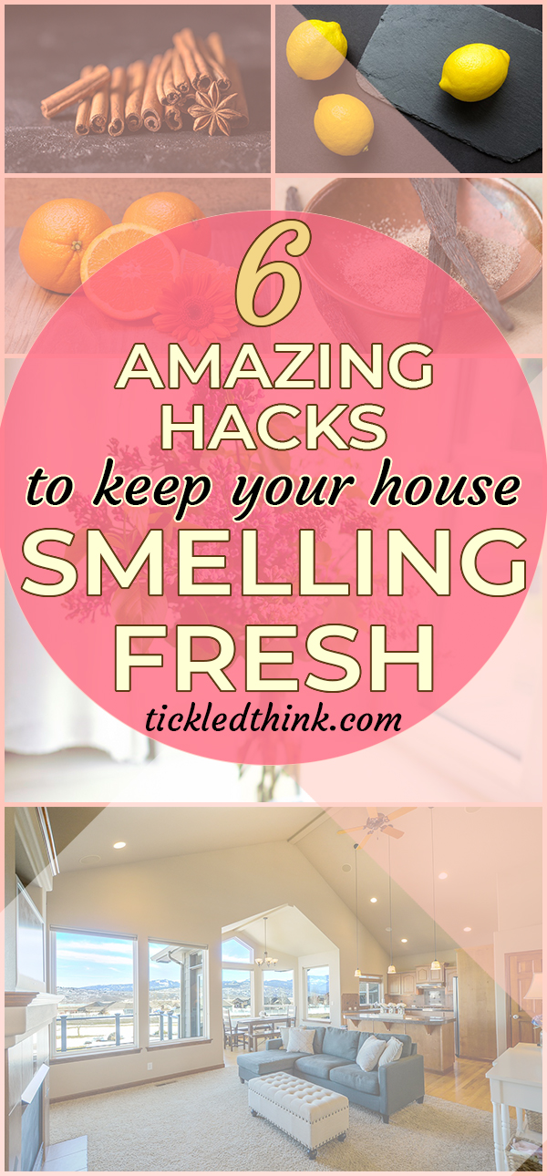 amazing hacks to keep your house smelling fresh