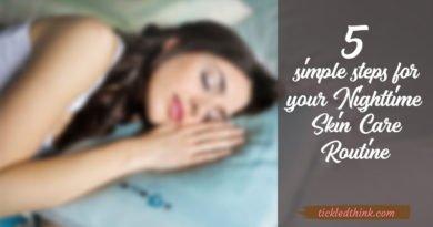 nighttime skin care routine