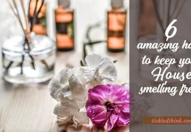 smelling fresh