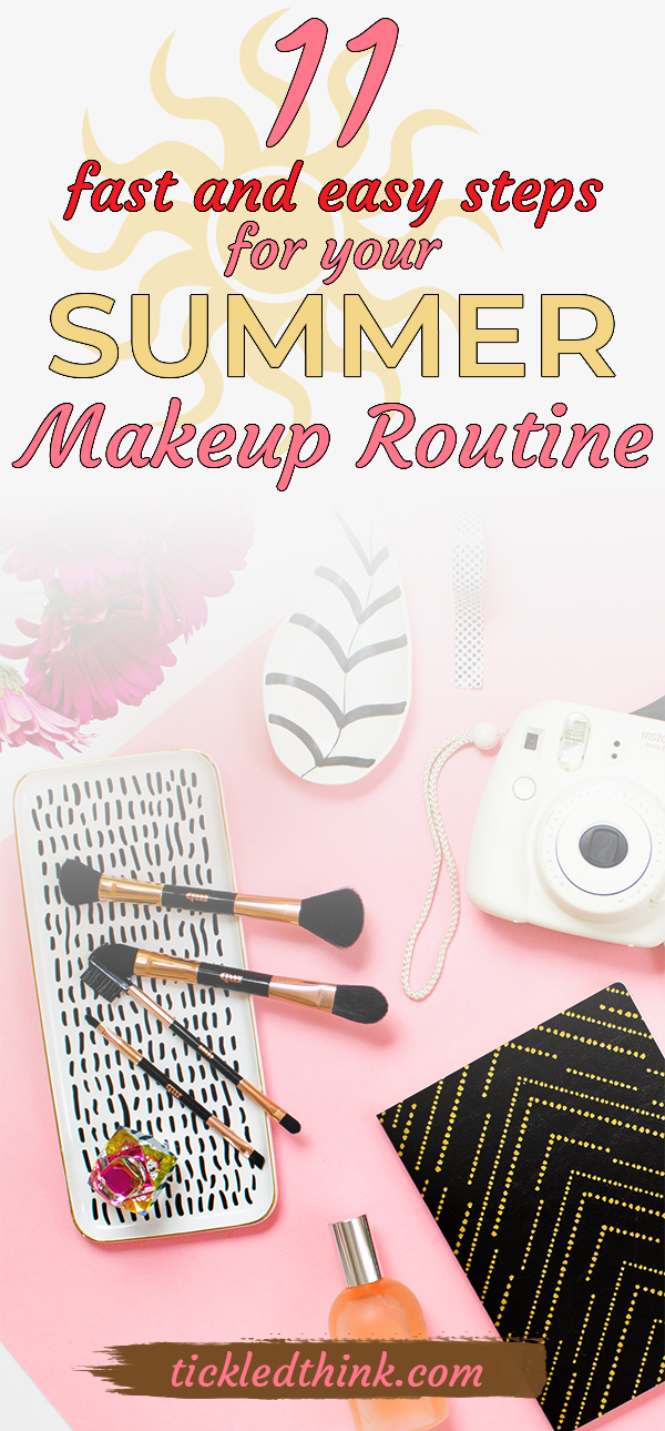 summer make up routine