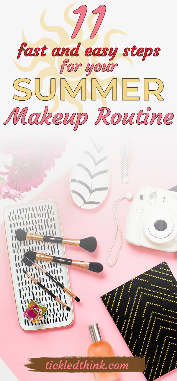 summer make up routine