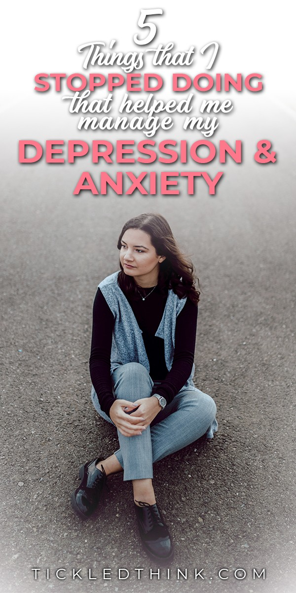 check out the tips I use to fight depression and anxiety