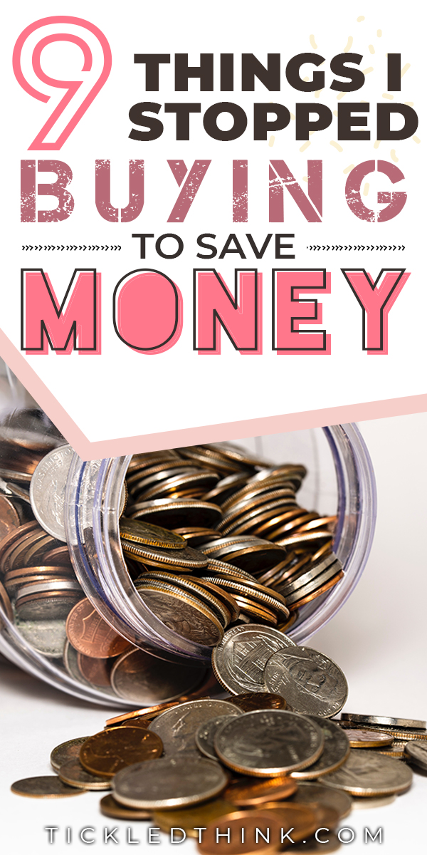 stop buying to save money 2