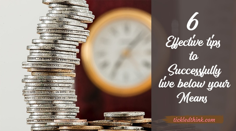 successfully live below your means