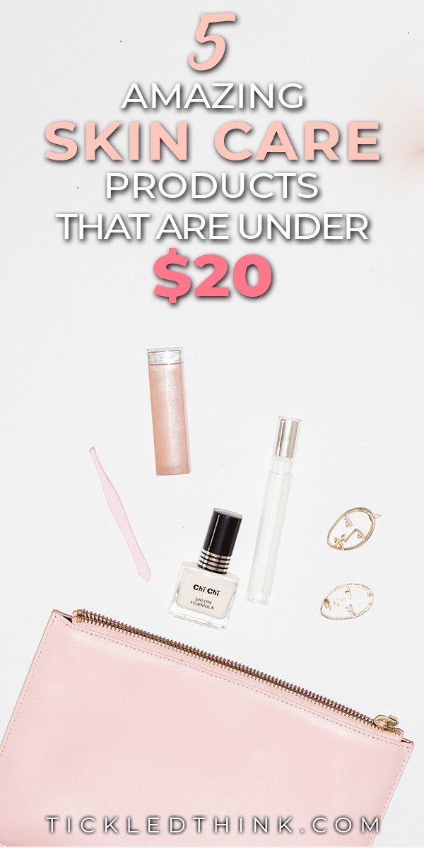 Taking care of our skin and keeping it healthy and young looking does not have to be expensive. Check out this amazing lineup of the best Skin Care Products that are all below $20