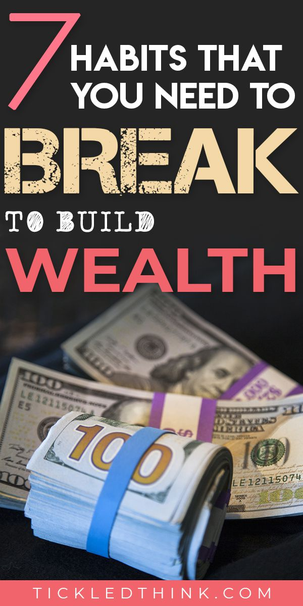 Sick and tired of being broke and want to start achieving financial success? Read on to learn the habits that are only costing you so much money every single day and how to break them to help you start building wealth, save more money and achieve financial security.