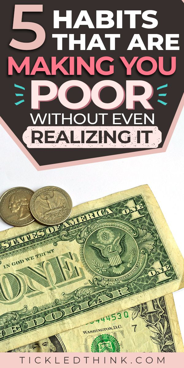 Often, no matter how hard you try to gain better control of your finances, you could still be wasting money every single day without even realizing it. Want to stop wasting money? Read on to learn easy and effective tips on how to stop wasting money, so you can start saving more money, pay off your debts and achieve financial freedom! #personalfinance #savingmoney #moneytips #frugality #moneysavingtips #savemoney #debtfreelife #payoffdebt #tickledthink