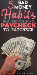 When you are stuck living a paycheck to paycheck lifestyle, you might feel as if there's no way out but there is a way to break free from the paycheck to paycheck cycle. Read on to learn easy and effective tips on how to finally stop living paycheck to paycheck, so you can start saving money, get out of debt and achieve financial freedom.