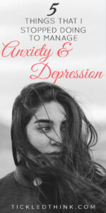 Living with anxiety while also managing depression can be overbearing but there are small steps that you can take every day to help you manage anxiety while also trying to cope with depression. Read on to learn the things I do to help reduce my anxiety, deal with anxiety and to overcome and fight depression.