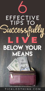 Living below your means is an essential step in helping you save money, pay off your debts and achieve financial security. Spending less than what you earn doesn't have to be difficult. Read on to learn easy and effective tips on how to start living below your means so you can start saving money, get out of debt and achieve financial freedom.
