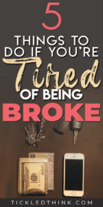 Being constantly broke, stuck in debt and living paycheck to paycheck can be very stressful but thankfully, there is a way out. Read on to learn easy and effective tips on how to finally stop being broke so you can start saving money, get out of debt and finally achieve financial freedom.