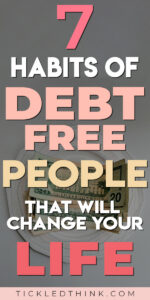 Are you tired of being buried in debt? Wondering what it takes to pay off your debts and live a debt-free life? Read on to learn the key habits of debt-free people and how to easily adapt those habits to help you get out of debt, stay debt-free and achieve financial freedom.