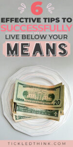 Spending below your means is a vital step in helping you save money and in building wealth. If you want to finally stop being broke and break free from the paycheck to paycheck cycle, read on to learn easy and effective tips on how to start living below your means to help you start saving money, pay off debt and achieve financial freedom.