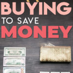 Most people want to save money and yet they still end up wasting money every day by buying unnecessary items. If you want to start saving money on autopilot, you need to start cutting off these expenses asap. Read on to learn the things I stopped buying to easily start saving money.