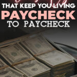 Living a paycheck to paycheck lifestyle can be very stressful but thankfully, there is a way to break free from the paycheck to paycheck cycle. Read on to learn easy and effective tips on how to finally stop living paycheck to paycheck so you can start saving money, get out of debt and achieve financial freedom.