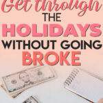 Want to know how to get through Christmas without going broke? Are you looking for ways to save money this holiday season? Read on to learn easy and simple ways to save money this holiday season and how to have a frugal and less stressful Christmas!