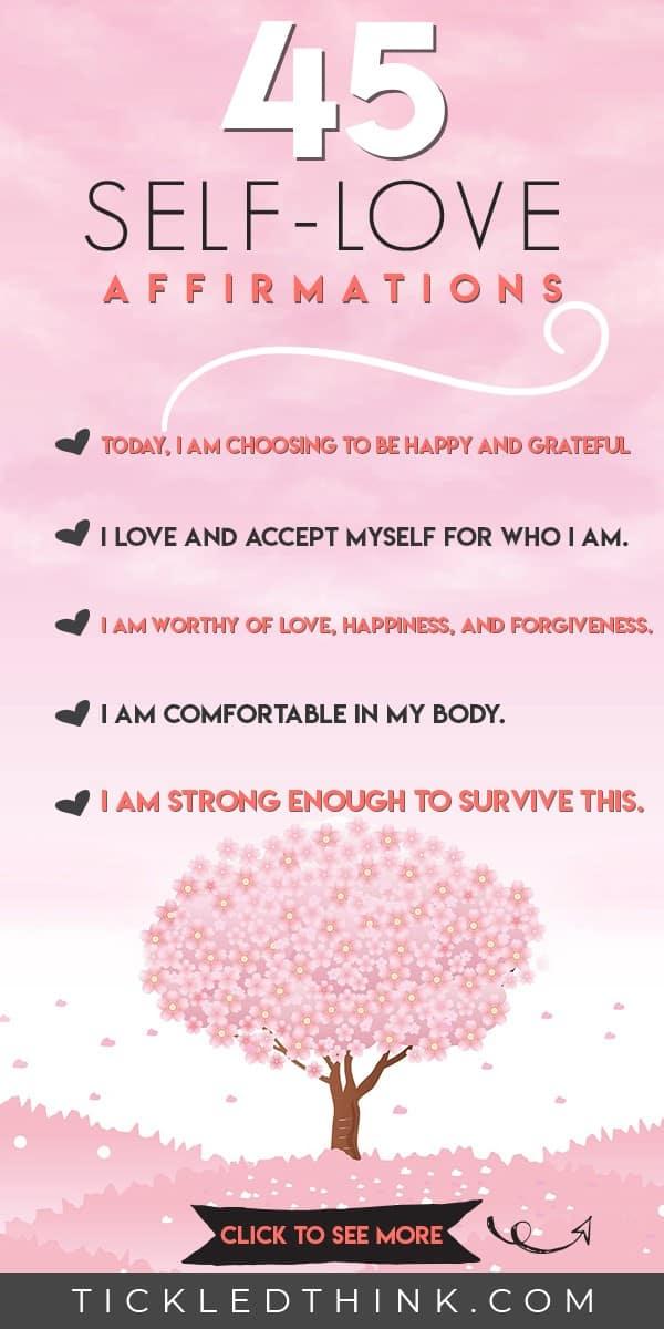 45 Self Love Affirmations