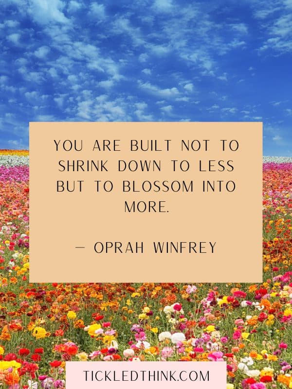 BLOOMING QUOTES AND BLOOM QUOTES
