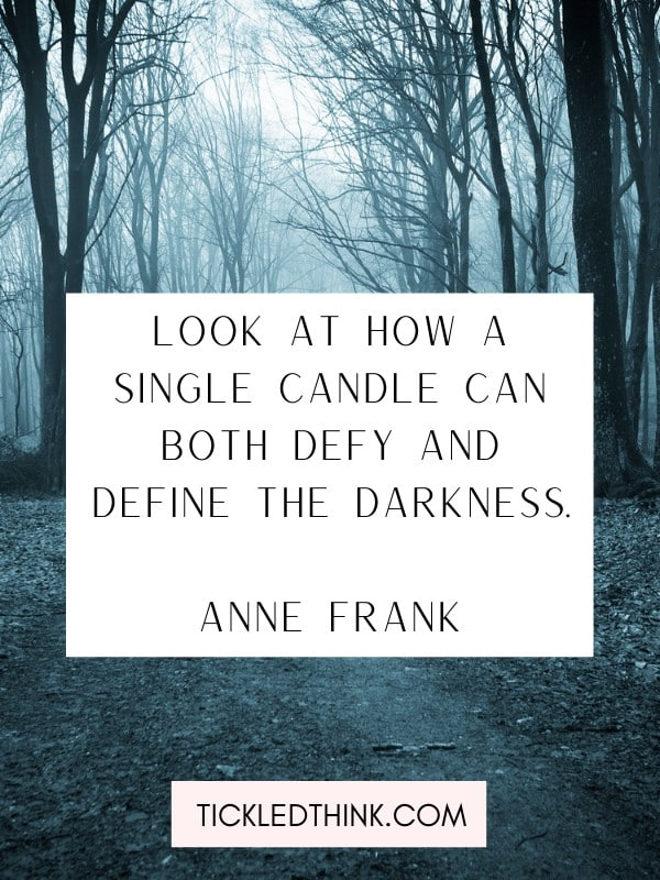 Darkness quotes and quotes about darkness