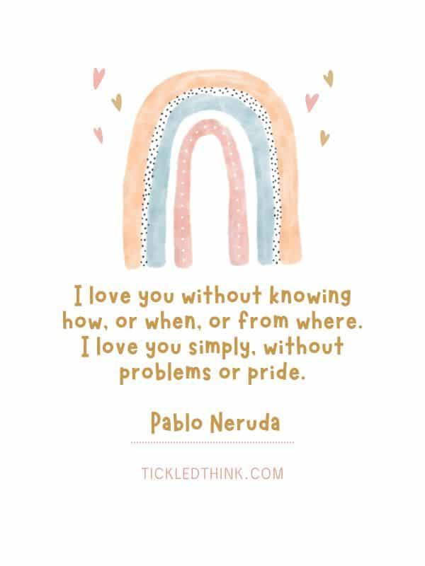 Heartwarming deep love quotes