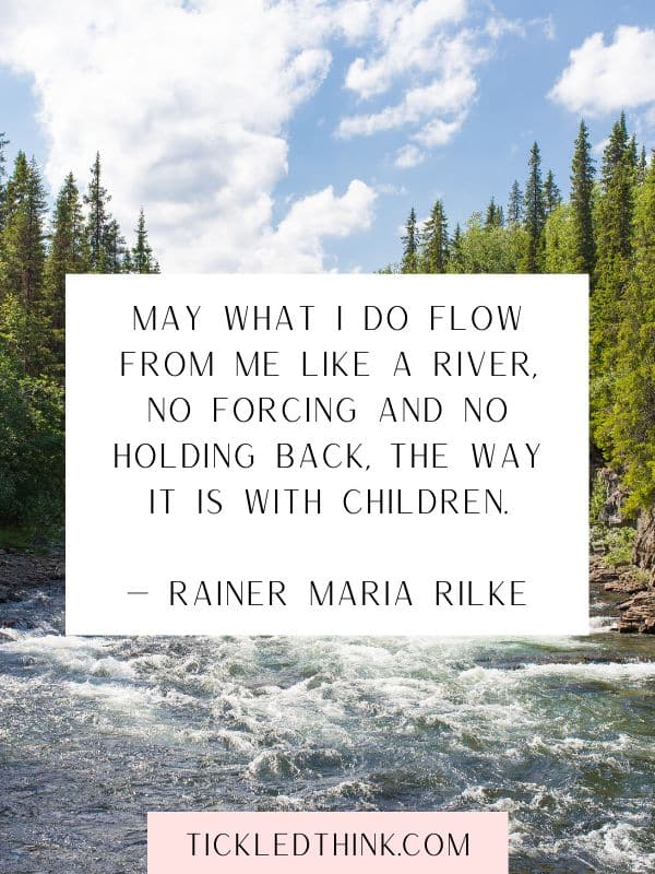 Inspirational river quotes and captions 1