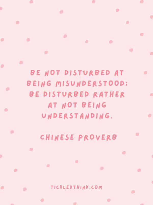 Inspiring understanding quotes