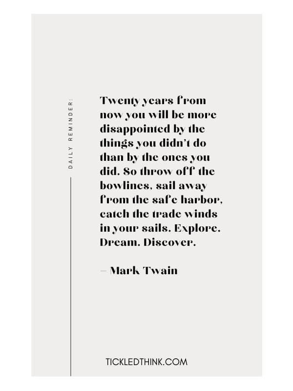 More inspiring taking chances quotes