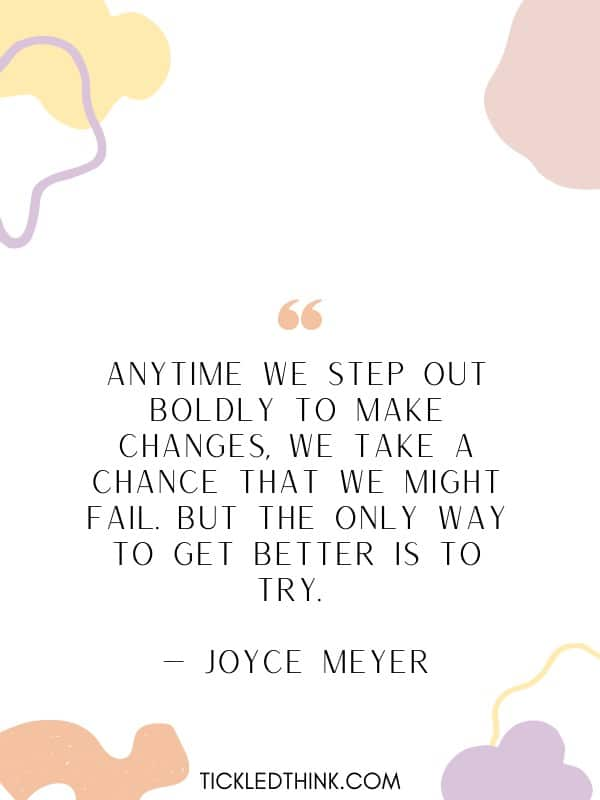 Thought-provoking taking chances quotes