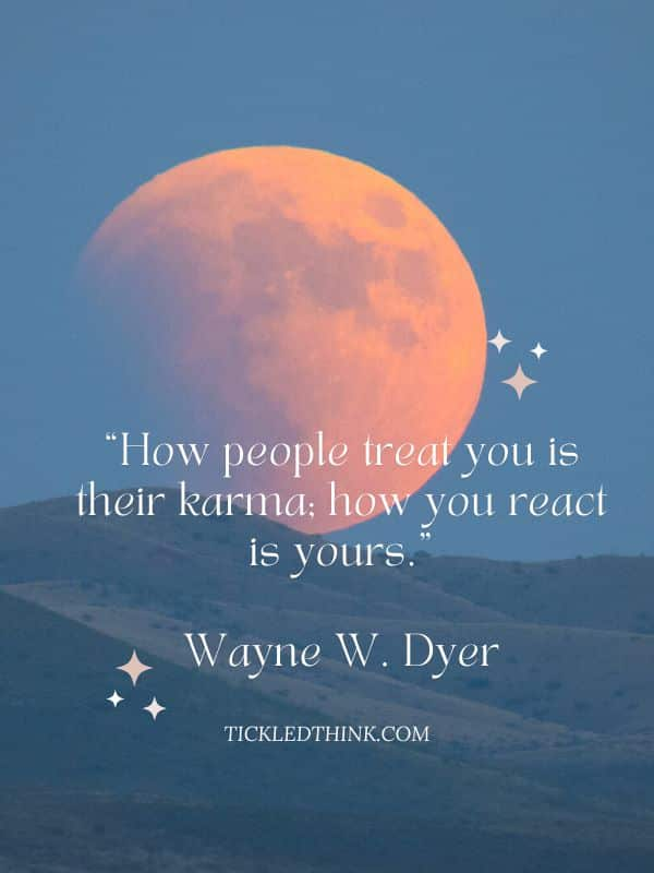Karma quotes about life